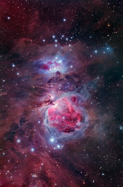 Great Orion Nebula - 50% of the original image resolution
